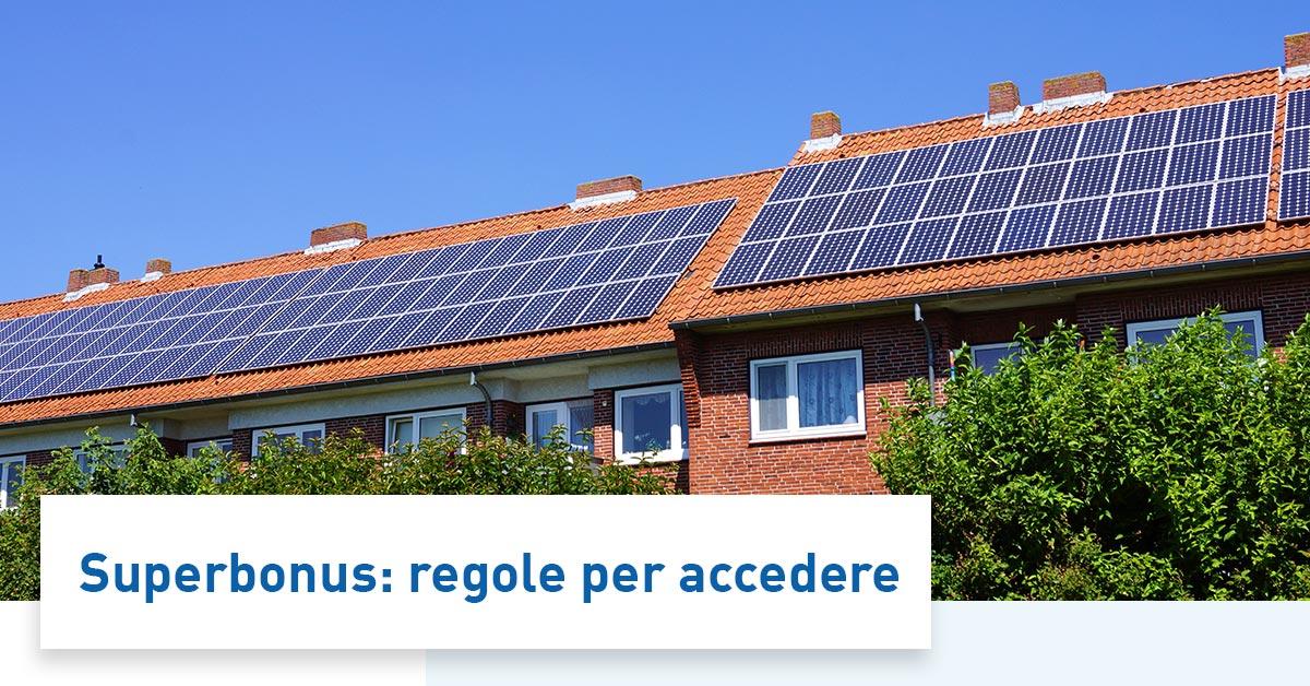 Fotovoltaico 110 e Accumulo