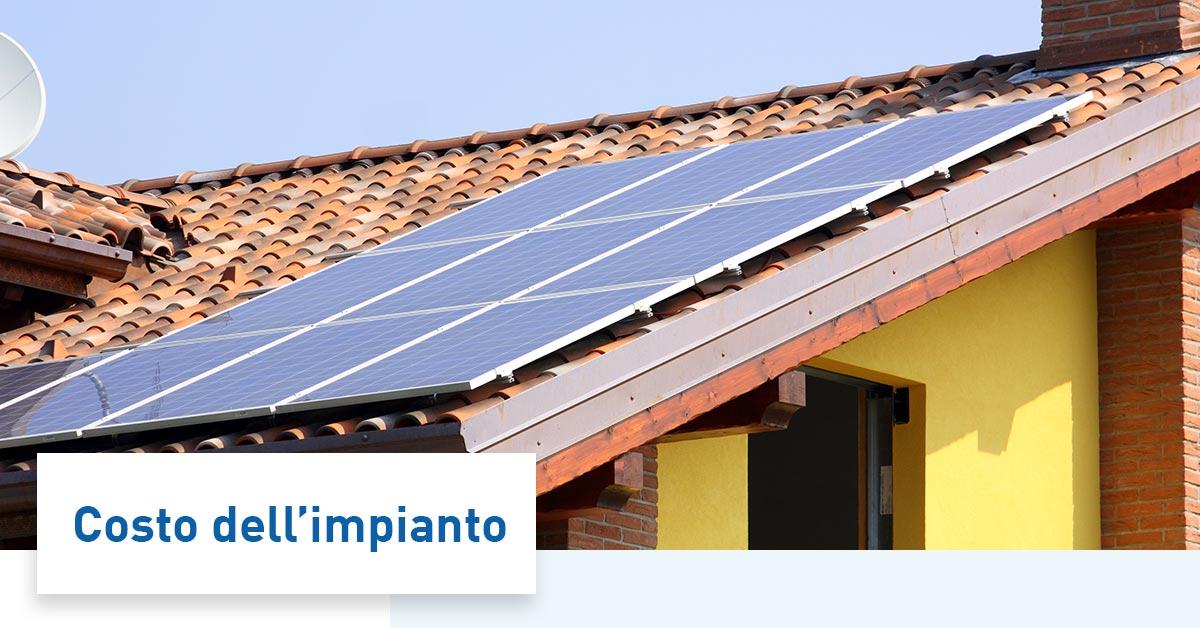 Pannelli fotovoltaici prezzi