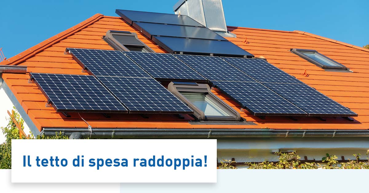 Sistemi di accumulo fotovoltaico detrazioni fiscali