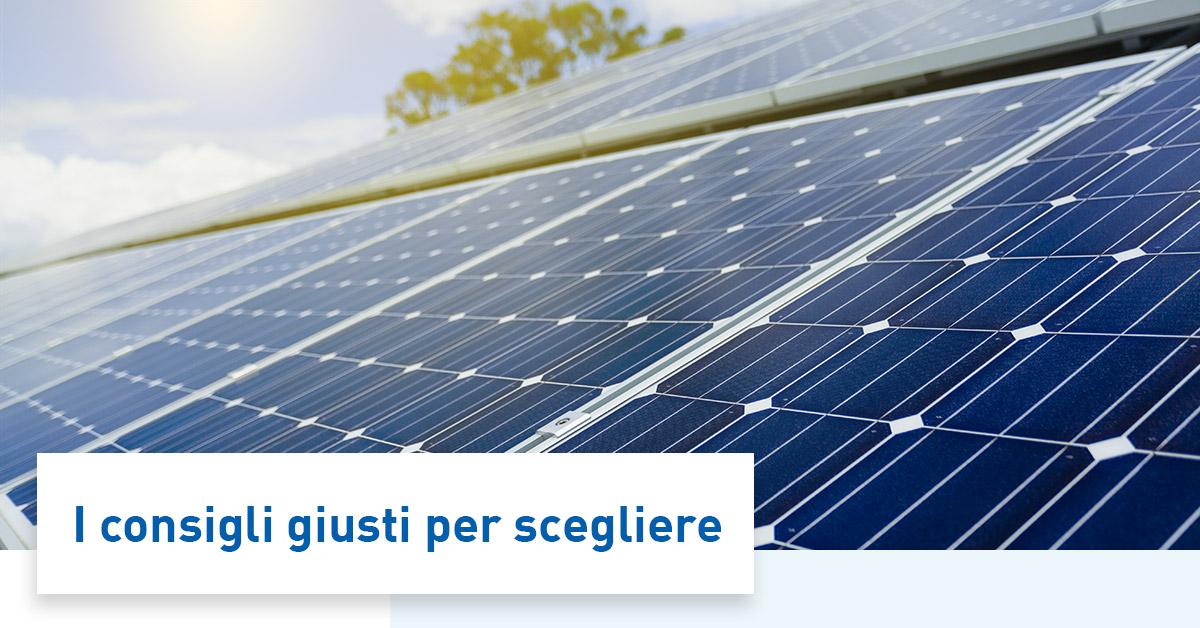 Pannelli fotovoltaici con accumulo guida alla scelta