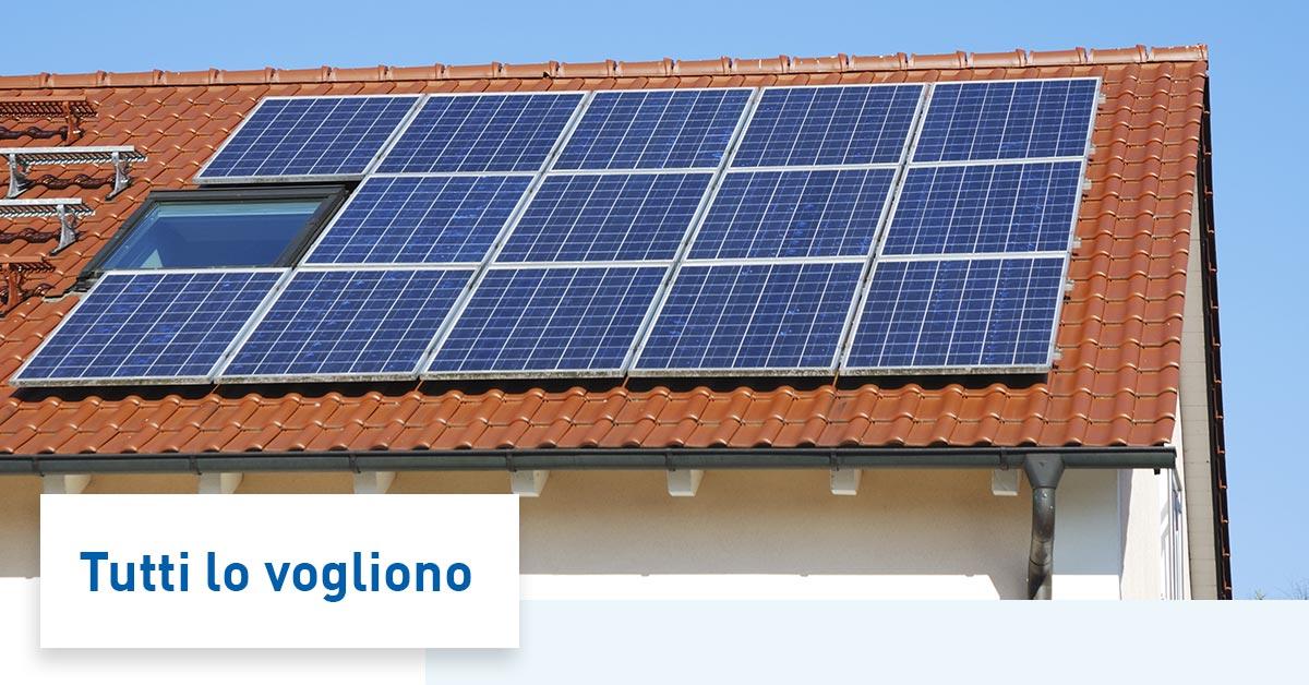 Fotovoltaico con accumulo: 3 buone ragioni per averlo