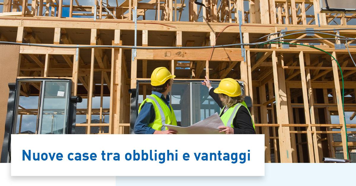 Energia solare vantaggi e svantaggi per le nuove case in costruzione